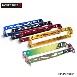 Wholesale car license plate anti - Tansky - Car Styling Adjustable License Plate Frame Power Racing License Plate Frames Tag Holder For Janpanese  European Car EP-PZK9001