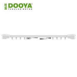 Wholesale Curtains Motors - Wholesale-Dooya High Quality Electric Curtain track, Auto Motorized Super Quiet CurtainTrack For Remote Control Electric Curtain Motor