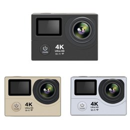 Wholesale Used Hd Pro - H3R 2.0LCD Double Screen Sports Action Camera Ultra 4K@25fps HD 1080p@60fps 12MP 170D 30M Go Waterproof Pro WIFI Car DVR Cam