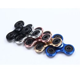 Wholesale Perfect Vehicle - metal spinner Hand Spinner Fidget Toy Spinner Aluminum material High Speed 3-4 Min Perfect Stress Reducer and Killing time ship one day