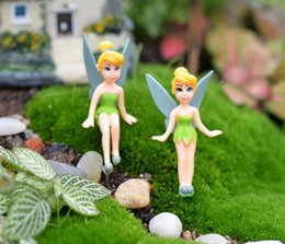 Wholesale Gnome Set - 100PCS DHL Free Tinkerbell Fairy Set Miniature Figurine Plant Pot Dollhouse Garden Ornament Gnomes Wholesalers