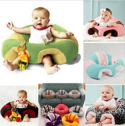 Wholesale Baby Year Toys - 2017 Fashion Cute Infant Baby Support Soft Seat Cotton Travel Car Seat Pillow Cushion Toys 0-2 Years Baby Seats Sofa