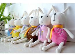 HIT 2017! Fabbrica diretta all'ingrosso giocattoli di peluche Tiramago coniglio coniglio bambola piccola bambola con sucke da