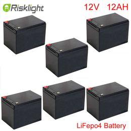 Batterie de 12v 12ah lifepo4 e-bike, batterie de 12v 12ah e-bike utilisant dans la moto / scooter électrique ? partir de fabricateur