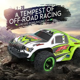 Wholesale Rc Cars Off Road - 2017 new toys Kids Toys Cars Original JJRC Q35 RC CAR 1:26 2.4G 4WD 30KM H Truck Monsters Off-road Vehicle Racing Car Buggies VS WLtoys A979