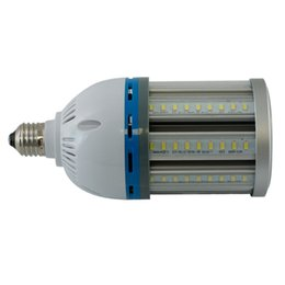 Wholesale garden temperature - Free Shippping Waterproof E27\E40 Base 27W Led Corn Light SMD5730 LED Chips 2700-6500k Color Temperature Full Aluminum Material