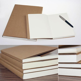 Wholesale Student Diary - Wholesale- Creative Trends Vintage Dowling Paper Blank Pages Sketch Book Stationery Diary Book Student Gift Notebook