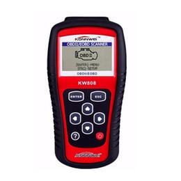 Wholesale Code Detector - Wholesale- KONNWEI KW808 OBD2  EOBD Car Diagnostics Auto Scanner Diagnostic Tool Automotive Fault Code Reader Car-Detector Automotive Tool