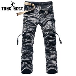 Wholesale Cargo Pants Hot Designs - Wholesale- Men's C amouflage Pants 2017 New Design Fashionable Full-length Cargo Pants Casual Hot Selling Spring & Summer Male Pants MKX790