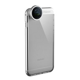 Wholesale Telephoto Camera Case - For iPhone 7 Camera Lens Case 5X Telephoto 0.4x Wide Angle 238° Fisheye Cell Phone Shell TPU Back Cover for iPhone6 plus