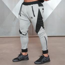 Tipi pantaloni uomo online-All'ingrosso-2016 nuovi pantaloni sportivi di medaglia d'oro di forma fisica, pantaloni da jogging di fitness da uomo in cotone elasticizzato Body Engineers Jogger Outdoor Slim-type