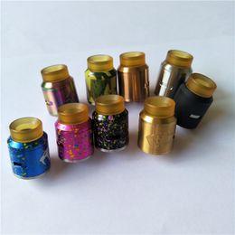 Wholesale Drip Dips - PEI Drip Tip Goon V1.5 Multi Colors E Cig Atomizers Custom Vapes Goon RDA Dipping Atomizers Wide Bore Goon 1.5 Retail