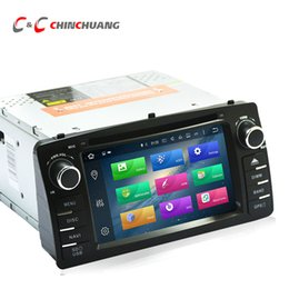 Wholesale 4g dvr - Updated 4G RAM 32G ROM Octa Core Android 8.0 Car DVD Player for Toyota Corolla E120 BYD F3 2003-2006 with Radio GPS Navi Wifi DVR