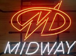 """Wholesale Arcade Lights - Brand New Midway Arcade Real Glass Neon Sign Light Beer Bar Pub Arts Crafts Gifts Lighting 20"""""""