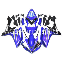 Wholesale Black Yamaha R1 - 3 free gifts Complete Fairings For Yamaha YZF 1000 YZF R1 2007 2008 Motorcycle Full Fairing Kit Blue Black cool style