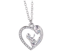 Wholesale Singapore Star - New Female Fashion Korean Style Stars Hollow Heart Necklace New Silver Pendants With Hollow Jewelry Christmas For Women AA126