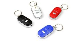 Wholesale Keychain Lost Alarm - DHL ONLY LED Whistle KEY FINDER Anti-Lost Alarm Find Lost Keychain Wallet cellphone Locator Finder (7)