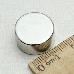 Wholesale Circular Disc Magnets - 5PCS 20mm Dia x 10mm Circular Disc N52 Neodymium Strongest Grade Magnet