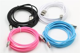 Wholesale Phone Feet - 3M 10 Feet Micro USB Cable Unbroken Metal Connector Data Sync Charging USB Lead For Samsung S7 ,S7edge,S6,S5 and other android phone