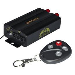 Argentina Sistema universal del perseguidor del GPS del coche GPS GSM GPRS Localizador del perseguidor del vehículo TK103B con tarjeta teledirigida del SD SIM antirrobo supplier gps tracker car sd card Suministro