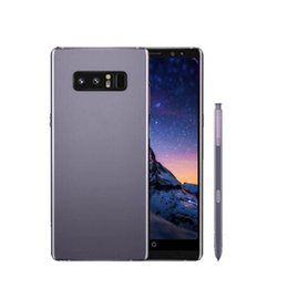 Wholesale Dual Screen Android Smartphone - ERQIYU Goophone note8 Note 8 unlocked 6.2inch smartphone shown 4g Android 7.0 dual sim 4G RAM 64G wifi GPS cell phones