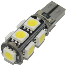 Wholesale Wedge Base - 100pcs T10 9 5050 SMD LED Bulbs Canbus Error Free Led Wedge Base for Auto Car Interior Lamp 501 W5W 194 Courtesy Light