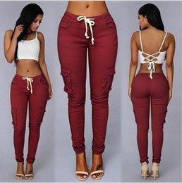 Wholesale Lady S Stockings - Newest Women Casual Elasticity Pants Modal Elastic Cotton Pencil Pants Summer Ladies Thin Capris S-XXL In Stock