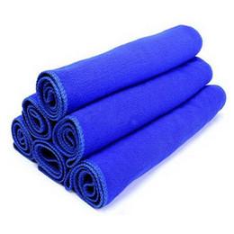 Wholesale car dry cloth - Wholesale- shunwei sponge car wash 30*30cm Soft Microfiber Cleaning Towel Car Auto Wash Dry Clean Polish Cloth