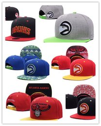 Wholesale Hawks Basketball - 2017 New HOT Atlanta Adjustable Hawks wholesale price Snapback Thousands Snap Back Basketball Cheap Hat Adjustable Baseball Cap