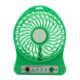 Wholesale Table Gear - Colorful mini portable fan , Fasion portable rechargeable fan ,young people 's favorite fan