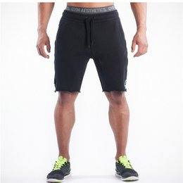 Wholesale Bodybuilding Shorts - Wholesale- High Quality Men Golds Brand Gyms Fitness Shorts Mens Professional Bodybuilding Shorts Gasp Big Size