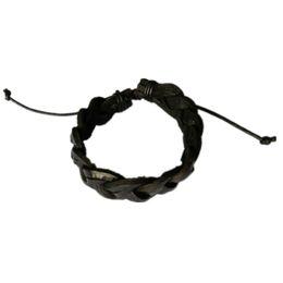 Wholesale Make Jewellery Sets - Wholesale-JINSE LFN002 Wholesale Fashion jewellery leather cords braided woven hand made friendship bracelets 2pcs lot