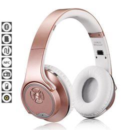 Wholesale Black Magic Speakers - MH1 NFC 2in1 Twist-out Speaker Bluetooth Headphone With FM Radio  AUX TF Card MP3 Sports Magic Headband Wireless Headset Headphones