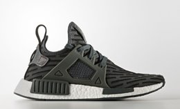Wholesale New Style Basketball Shoes - Black NMD NMD XR1 PK Running Shoes Perfect Shoes Training Sneakers Brand NMD Outdoor Shoes New Style Sports Running Shoe Wholesale