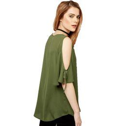 3b105a95ea5 Wholesale- Topjini New Fashion 2017 Spring Summer Casual Women T Shirt Plus  Size 6XL Female Chiffon Tops 5XL XXXXL Half Sleeve T-Shirts