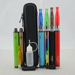 Wholesale C Battery Case - Vision Spinner 2 with H2 510 Vape Pen Starter Kits Mini Zipper Case E Cigs eVod eGo C Twist II Variable Voltage Battery