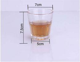 Wholesale China Tempered Glass - New fashion Tempered glass wine bar glass whiskey glasses of water bottle bear bar vaso wine glass verre vidro copo