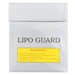 Al por mayor- RC LiPo Battery Safety Bag Safe Guard Charge Saco 22 * 18 cm de plata desde fabricantes