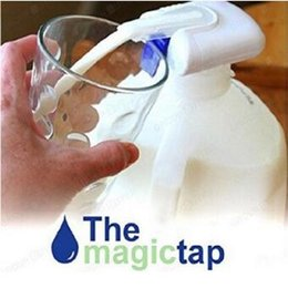 Wholesale Electric Taps - New Fashion Beverage Pumping Device Electric Automatic Water Drink Beverage Dispenser Spill Proof Magic Tap CCA7542 120pcs