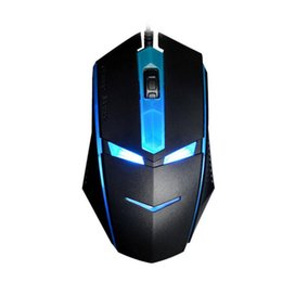 Wholesale Desktop Business - Optical Gaming Mouse USB Wired Backlights Mice for Office Business 1600 DPI for Desktop Laptop Illuminating Mouse for Gamer