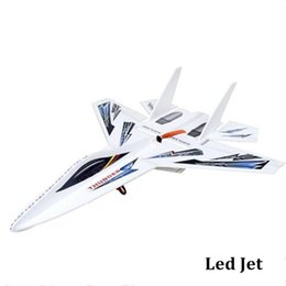Wholesale Rc Transmitter Plane - flashing led rc plane shatter resistant magic board remot control airplane 2.4ghz transmitter 6ch rc glider toy dropshipping