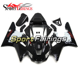 Wholesale Motorcycle Cover Plastic - Black White Fairings For Yamaha YZF R1 00 01 2000 2001 Injection ABS Plastics Motorcycle Fairing Kit Bodywork Hulls Cowlings Covers Panels