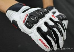 Wholesale motorcycle race leather - Free Shipping 2014 new element racing motorcycles cowhide gloves touchscreen phone itself Daine cross MTB