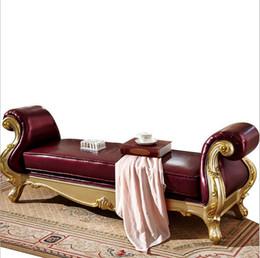 Canada Nouvelle arrivée de haute qualité européenne moderne américain style chambre à coucher meubles en cuir lit fin fauteuil p10082 Offre