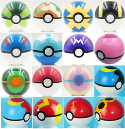 Wholesale Great Big - 7CM Poke Ball Toys Pokeball Types 21 styles Poke Cosplay Pop-up Master Great Ultra GS Gift Kid Children