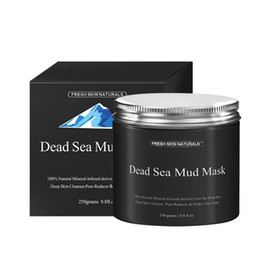Wholesale Clear Mud - DHL Delivery 500pcs lot Dead Sea Mud Mask Deep Cleaning Black Mask Hydrating Acne Blemish Clearing Lightening Moisturizer