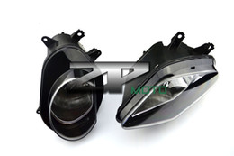 Wholesale Headlamp Bmw - Motocycle LED Headlight Fog Lights Headlamp Assembly For BMW S1000R 2010-2013 s1000rr ABS motorcycle parts original package