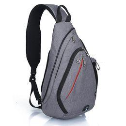 Wholesale Small Sling Shoulder Bags Men - Sports Packs Day Packs Men & Women Outdoor Sling Bag - Small Crossbody Backpack Wave Female Shoulder Bags Multi-Function