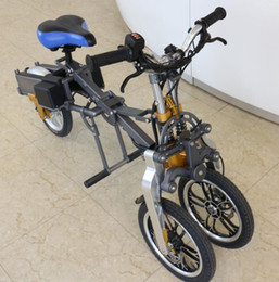 Wholesale Electric Scooter Ce - T1 bike Zero Emission 100% electric folding motorcycle 25 MPH Top speed Ebike scooter with Dual suspension 280lbs Weight Limit
