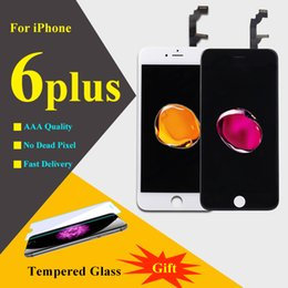 Wholesale Iphone Digitizer Pcs - LCD screen repair for iPhone 6 plus Display 5.5 inch 1 pcs 100% Grade AAA touch screen with digitizer assembly replacement parts